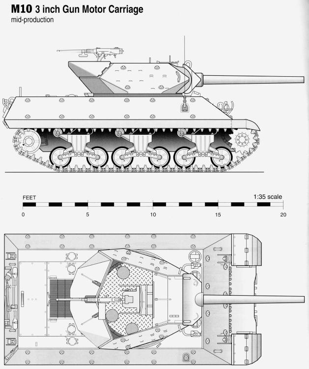 Чертежи и схемы танков и